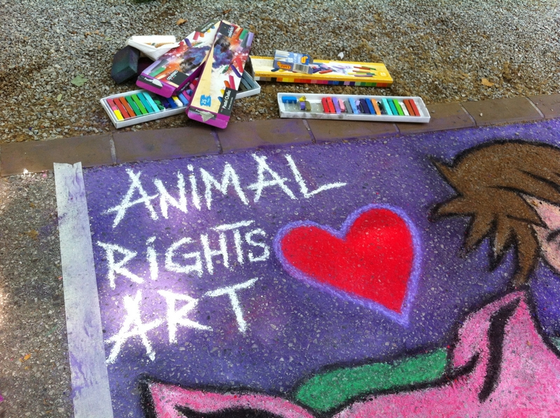 Animal Rights Art by Mariana Vidmar